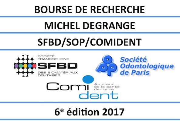 Bourse de recherche Michel Degrange 2017