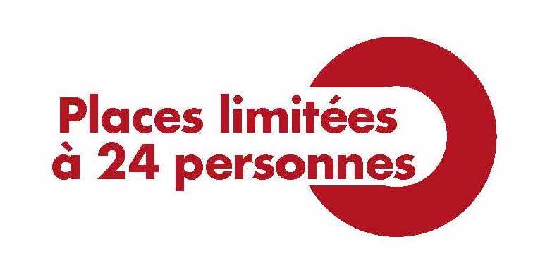nombre de places limité à 24 participants