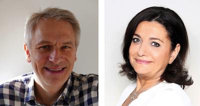 Goeffrey Sitruck et Corinne Touboul
