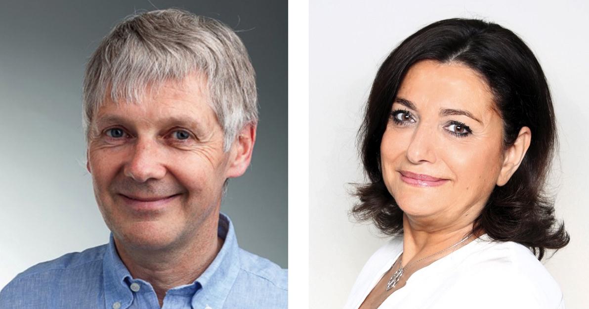 Paul Rousseau et Corinne Touboul