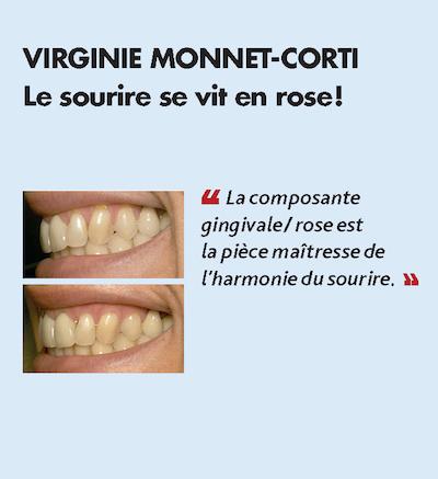 Thème n°12 par VIRGINIE MONNET-CORTI > Le sourire se vit en rose !