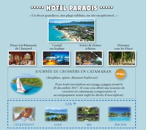 hôtel Paradis - île Maurice 2018