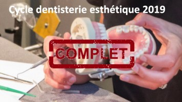 Cycle long Dentisterie Esthétique 2019
