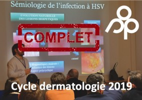 Cycle court Dermatologie 2019
