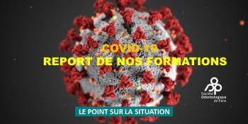 COMMUNIQUÉ SOP – POINT SUR LE REPORT DE NOS FORMATIONS